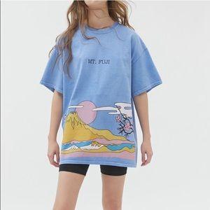 Japan over dyed T-shirt dress